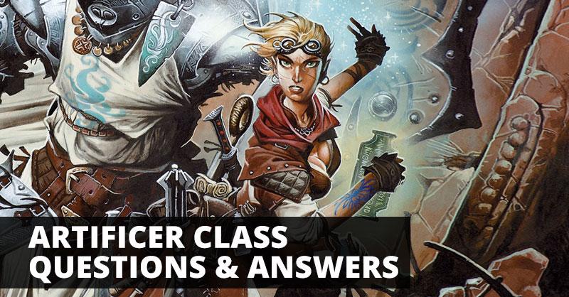 Artificer Class: Questions & Answers | Sage Advice D&D