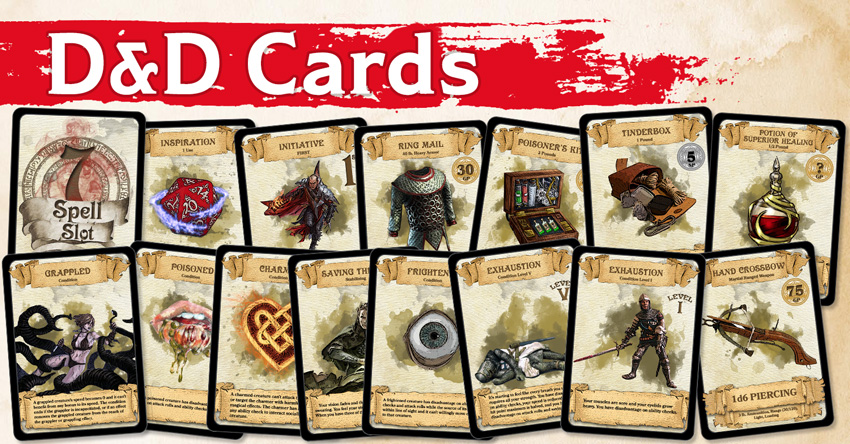graphic about Printable Monster Cards 5e named DD Playing cards Resources, Treasure, Circumstance, Motivation and