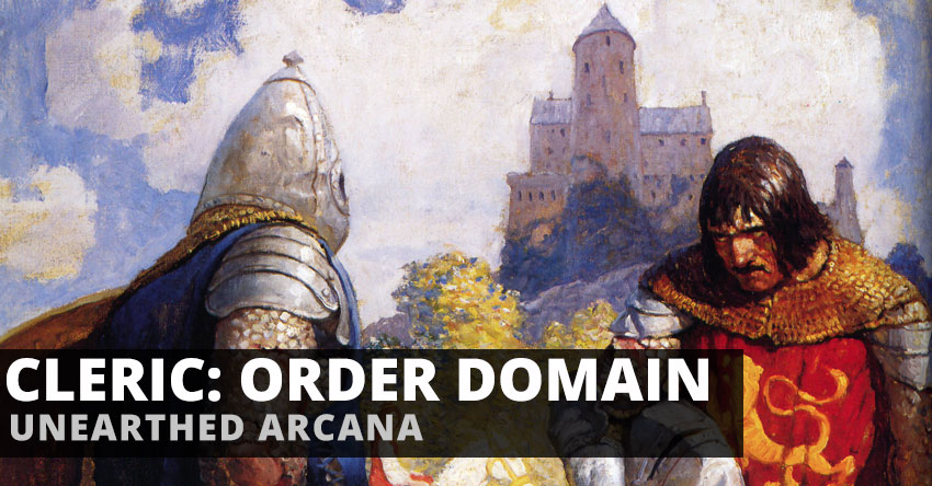Cleric Order Domain – Unearthed Arcana | Sage Advice D&D