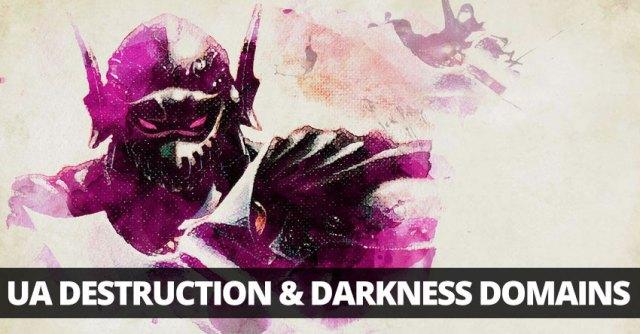 UA Destruction and Darkness domains for clerics!   Sage
