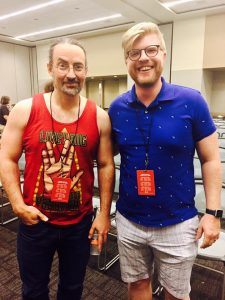 meeting Jim Butcher at the Phoenix Comic Con