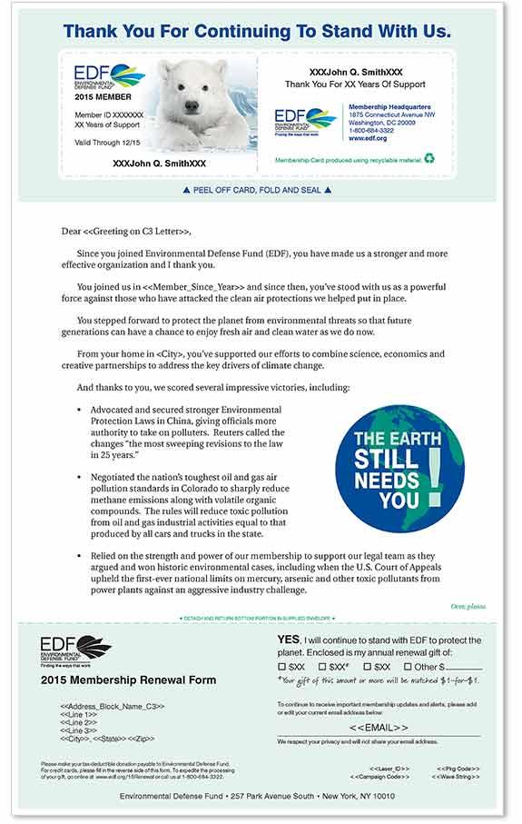 Nonprofit membership renewal  Sage Communications