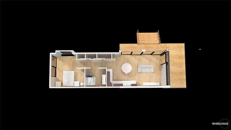 Wheelhaus lookout floor plan