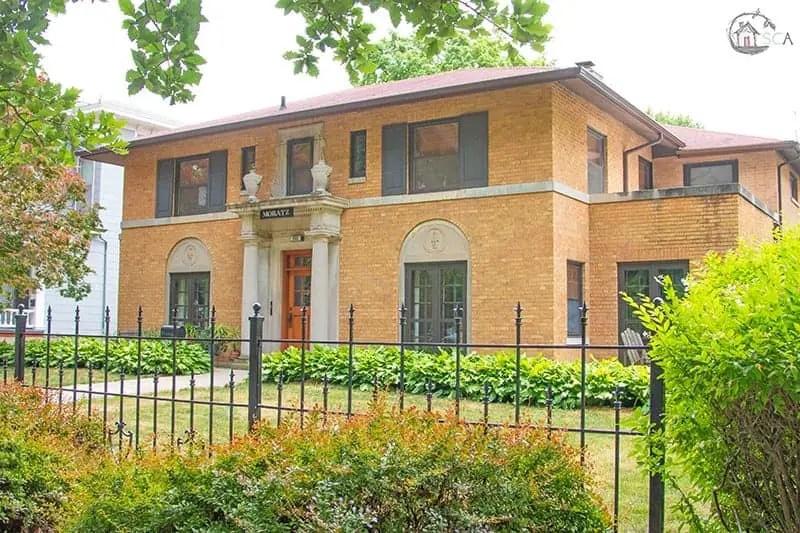 Old House Society Bloomington Illinois Annual Home Tour 2018 Franklin Park 17