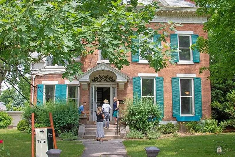 Old House Society Bloomington Illinois Annual Home Tour 2018 Franklin Park 5