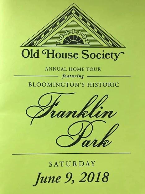 Old House Society Bloomington Illinois Annual Home Tour 2018 Franklin Park 1