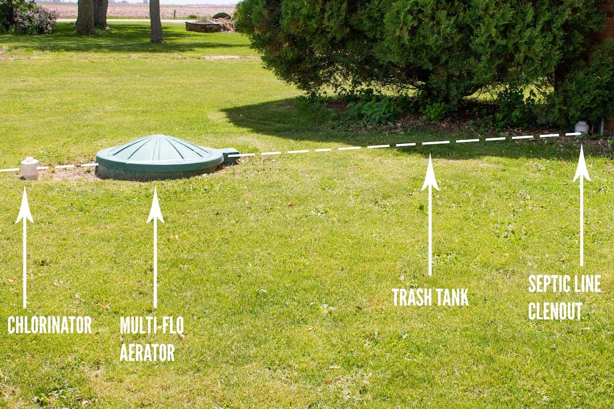 Photo of Multi-Flo septic system