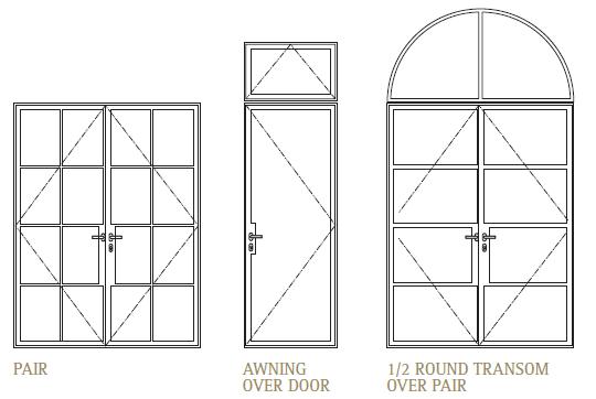 Pivot Door Elevation & Off Center Pivot Entry Door With
