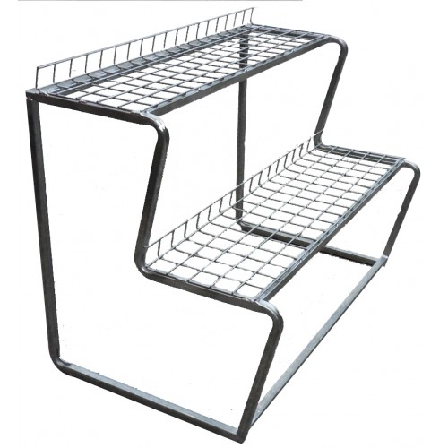 tier plant stands metal tubing frame galvanised