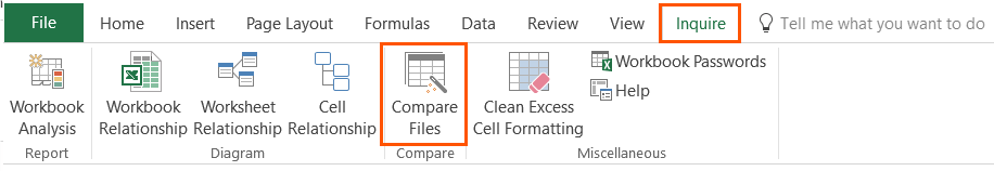 Discover how to compare two versions of a workbook in Excel | Sage ...