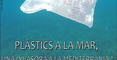 Plàstics a la mar