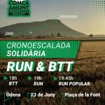 RUN & BTT CONCA AMUNT CRONOESCALADA