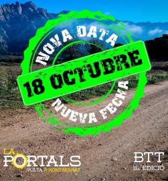 NOVA DATA PER LA PORTALS: EL 18 D'OCTUBRE