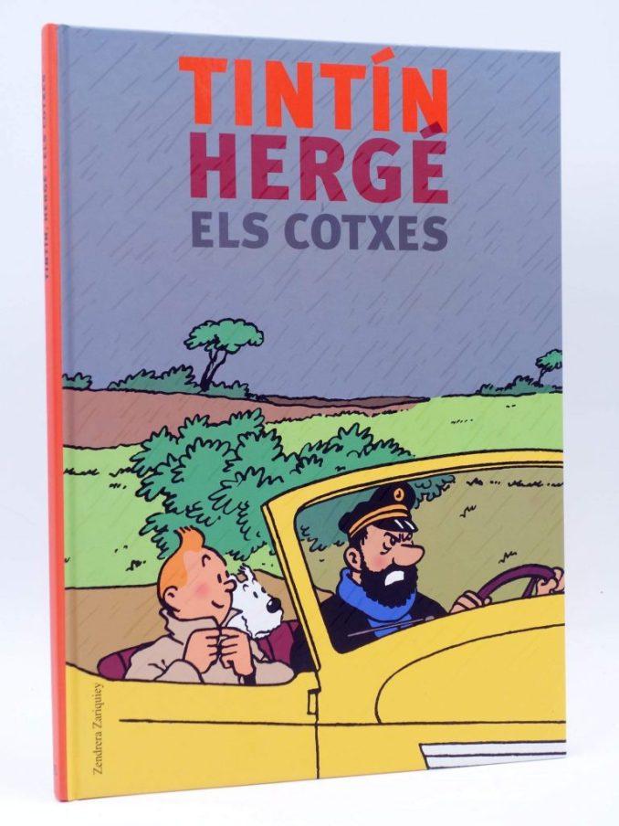 Hergé era un gran amant dels cotxes. Tenien una importància capital en Les aventures de Tintín. Hi ha 79 models que són clarament identificables