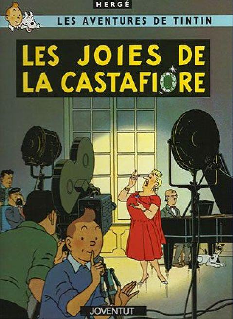 A LES JOIES DE LA CASTAFIORE,  no hi ha viatges ni grans aventures. I aquí veurem la gràcia que té l'Hergé per fer interessant la intriga.
