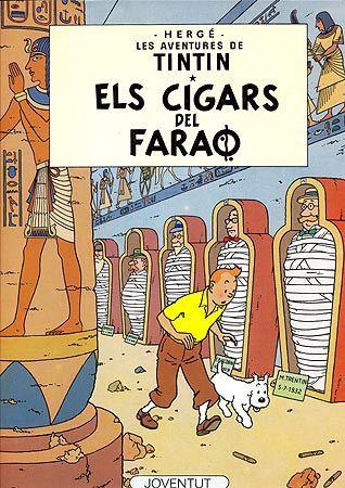 TINTÍN: ELS CIGARS DEL FARAÓ