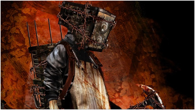 The Keeper from The Evil Within