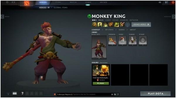DOTA 2, Monkey King
