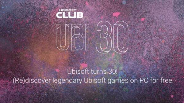 Ubisoft is celebrating it's 30th Anniversary