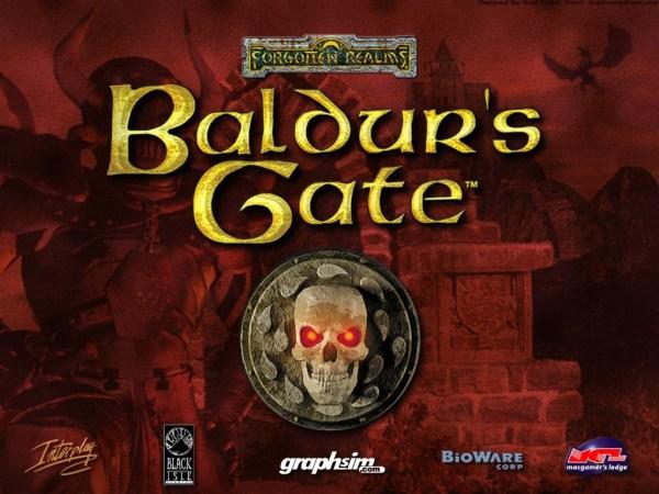 Baldur's Gate CD cover