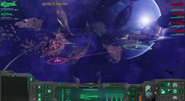 Battlefleet Gothin Armada gameplay screenshot