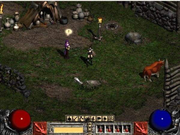 Diablo II screenshot