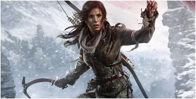 Lara Croft from Tomb Raider Series