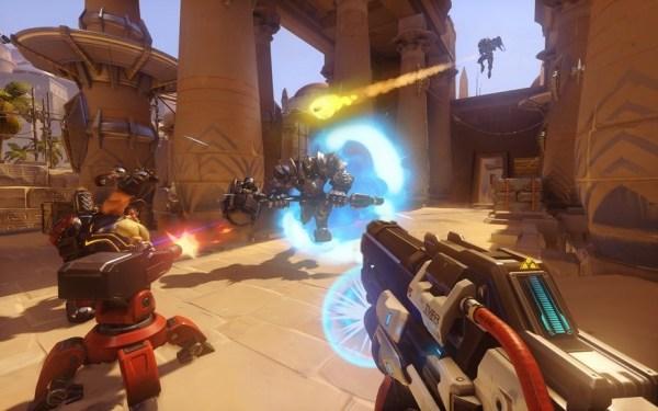 Overwatch gameplay screenshot