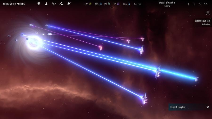 Dawn of Andromeda is a solid space-faring 4X strategy game