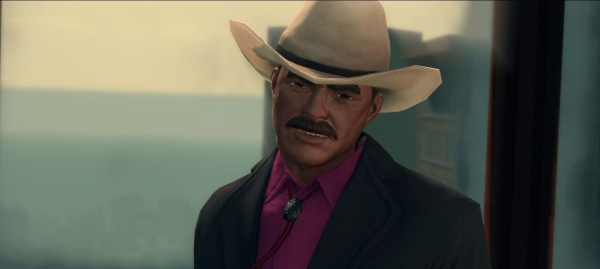 Burt Reynolds in Saints Row Cameo