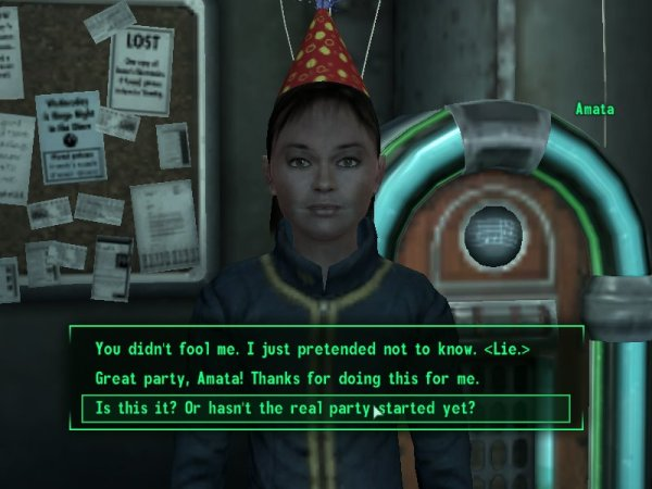 Conversation from Fallout 4