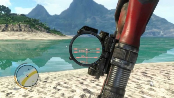 Bow and arrow weapons in Far Cry 3