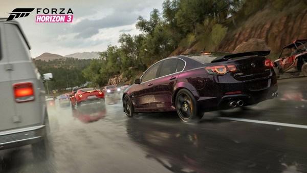 Forza Horizon 3 Screenshot of Race