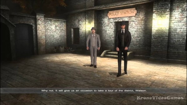 Sherlock Holmes Vs Jack the Ripper gameplay screenshot