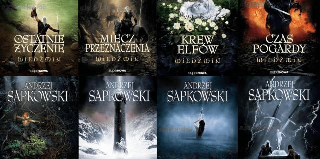The Witcher novels by Andrzej Sapkowski