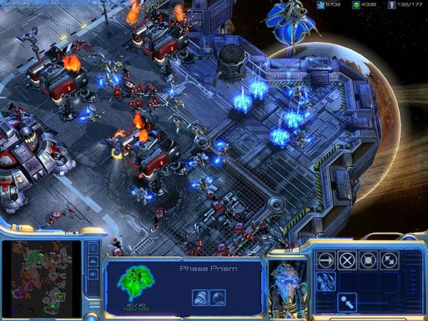 StarCraft II screenshot.