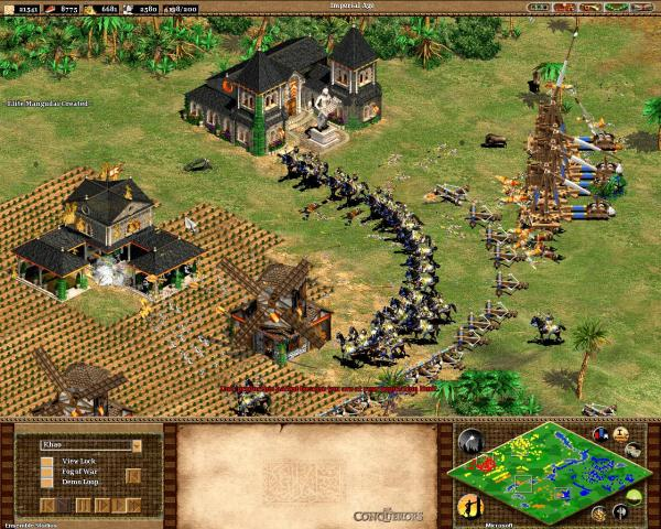 Age of Empires II screenshot.