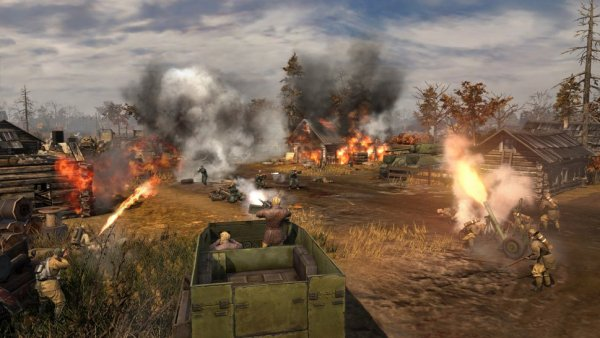Company of Heroes II screenshot.
