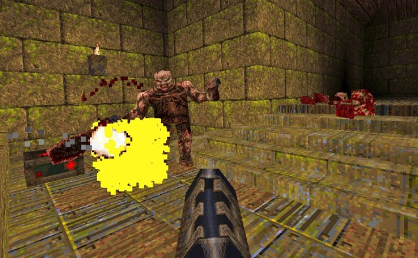 Quake Gameplay Screenshot