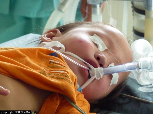 Teaching pediatric anesthesia Mongolia