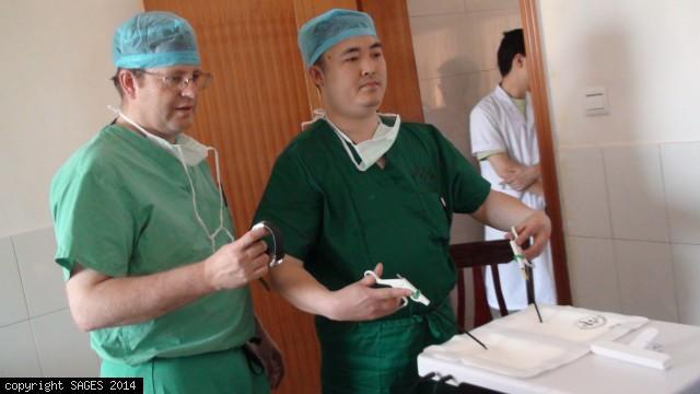 Teaching FLS training box Pingchang China