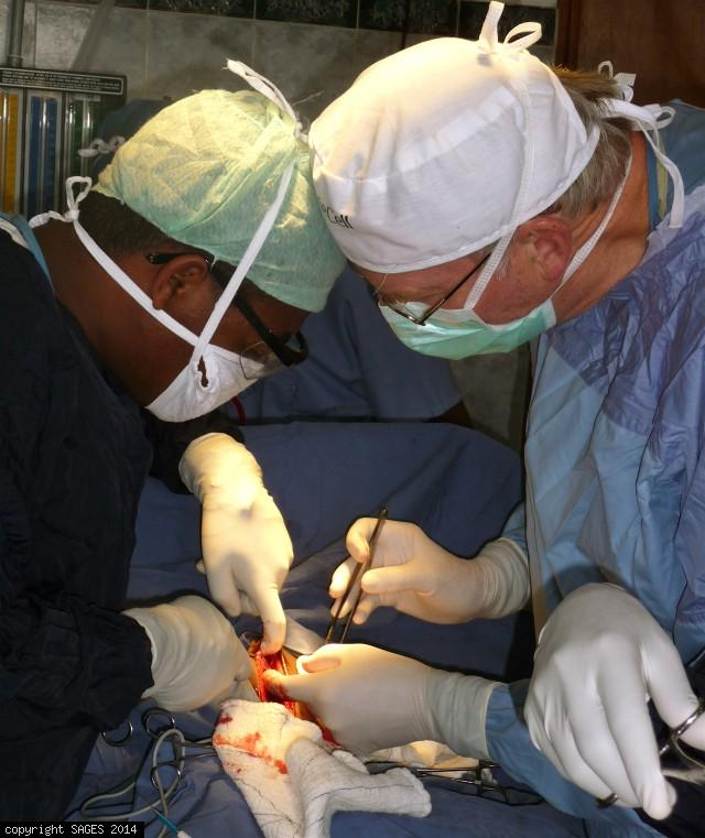 Ethiopian surgical mission