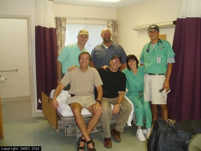 Volunteer servicces in New Orlean after Katrina