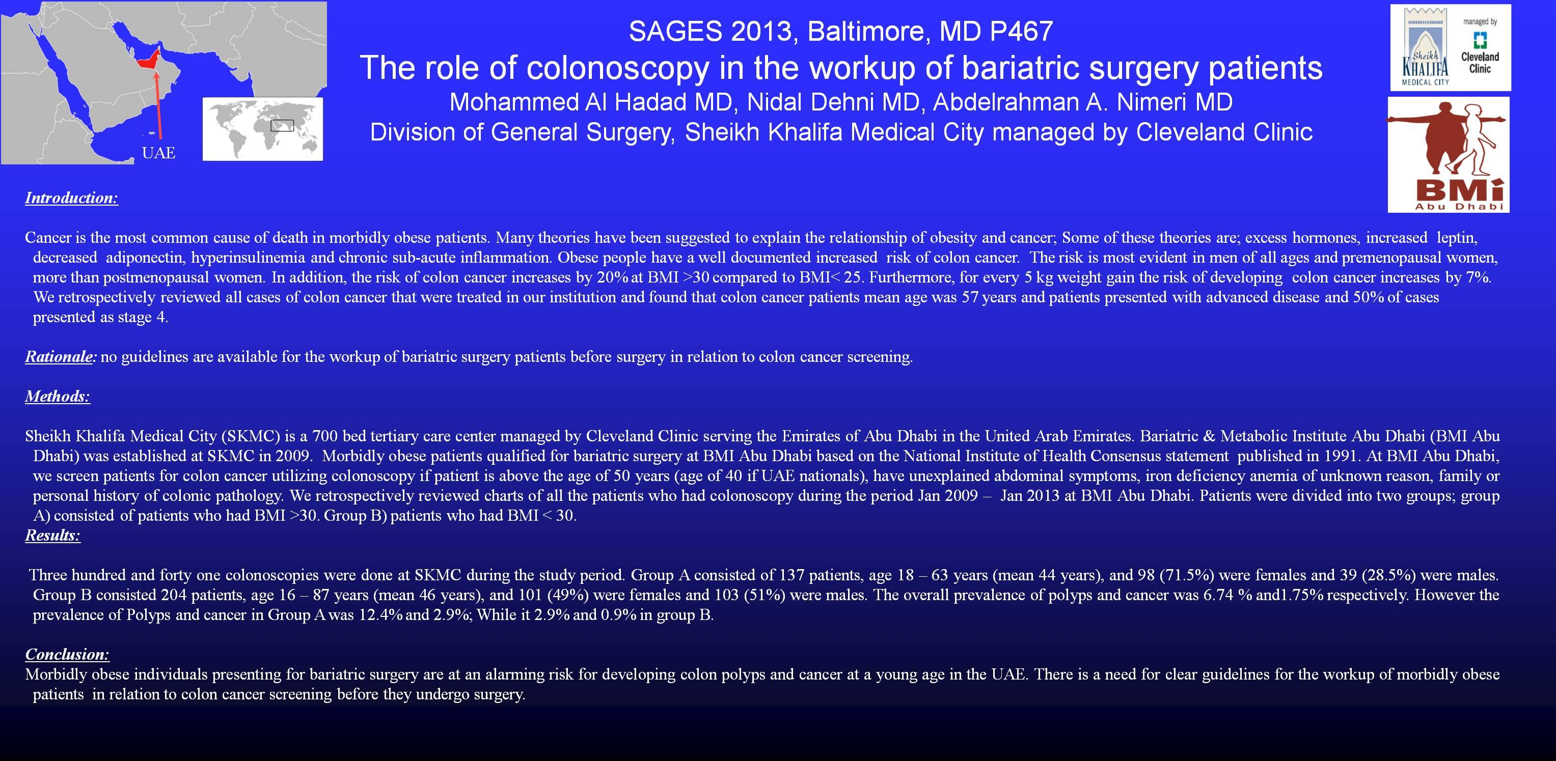 The role of colonoscopy in the workup of bariatric surgery patients post views 59 geenschuldenfo Image collections