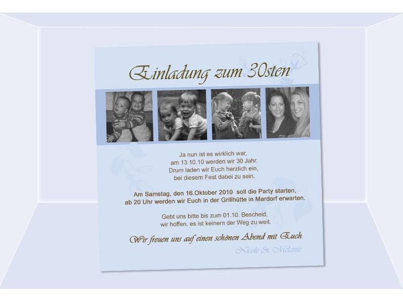Einladung 20 Geburtstag Fotokarte Einladungskarten