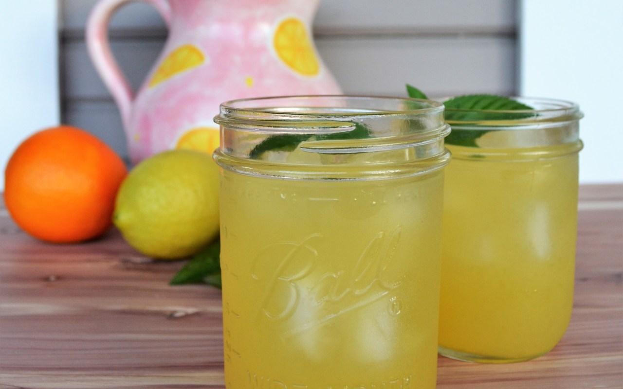 Iced Citrus Passion Tea