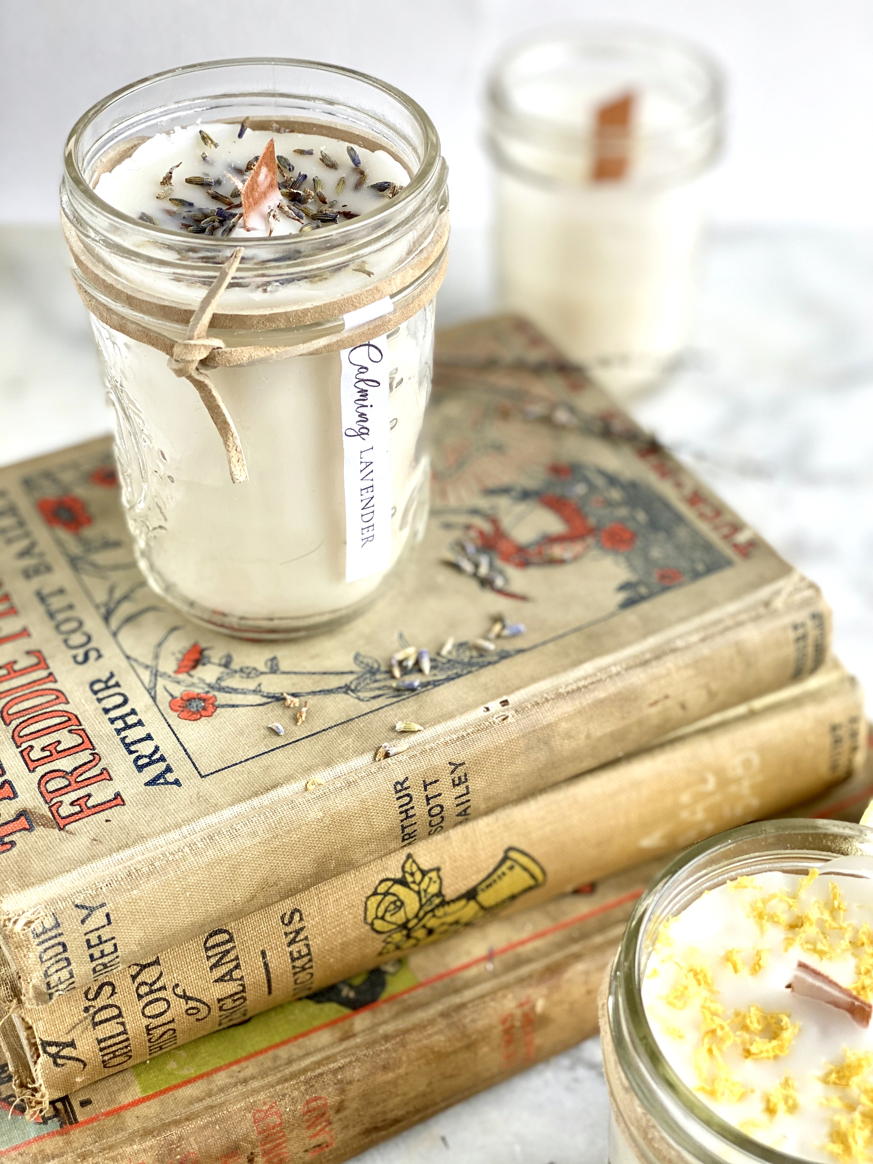 How To Make Homemade Scented Candles Sage To Silver