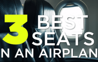 These Are The Three Best places To Sit On The Plane