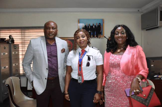 Jubilation As Air Peace Decorates First Female Captain