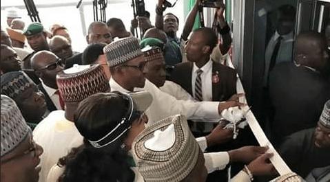 Buhari Commissions New Abuja Airport Int'l Terminal (Video)